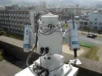 System for evaluating atmospheric environmental impact of aerosols