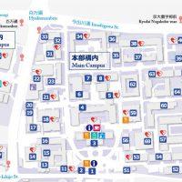 吉田キャンパス地図