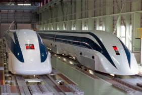 山梨リニア実験線車両MLX01