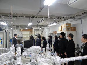 福井県立敦賀高校 講演と施設見学